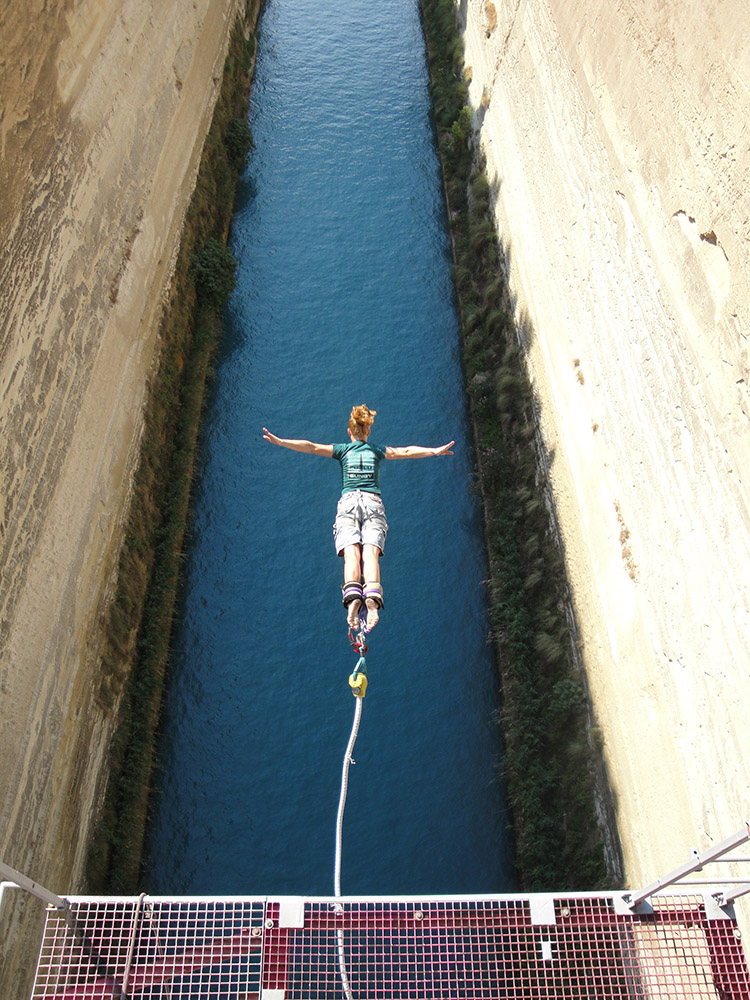Bungee Jumping at Isthmus: